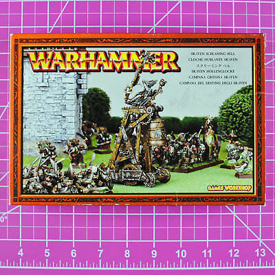 Warhammer Fantasy Skaven Screaming Bell, Metal - OOP - GW Games Workshop Citadel