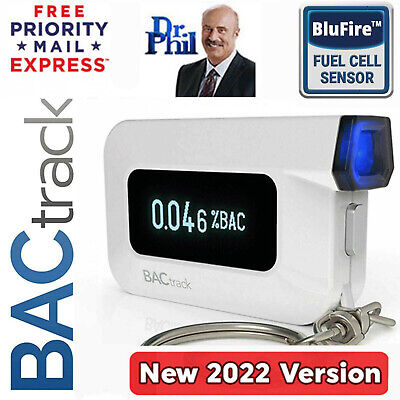 Breathalyzer. Alcohol Tester. BACtrack C6 Keychain. BLUFIRE® FUEL CELL. Genuine