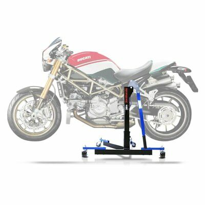 Center Spider Lift ConStands Power Evo Ducati Monster S4RS 06-08 blue Centre