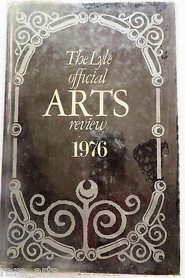 Auction illustrated Reference Book LYLE official ARTS review 1976  TONY CURTIS