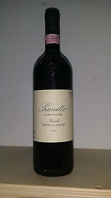 Barolo Prunotto cannubi 1996