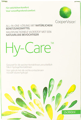 Coopervision Hy-Care Contact Lens solution Sauflon Synergi Replacement