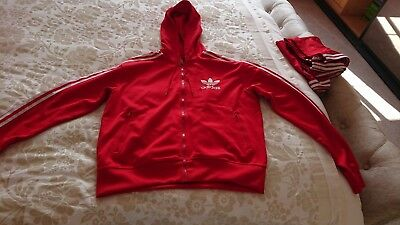Adidas Red tracksuit Retro Size XL