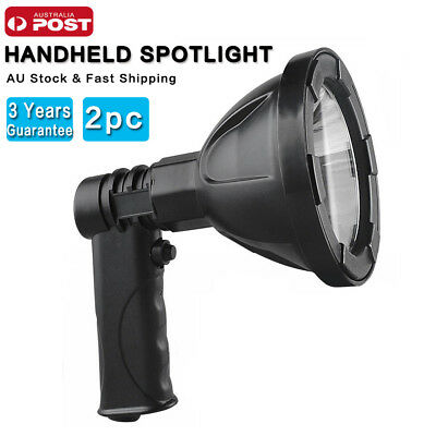 15W CREE Handheld Spotlight Rechargeable LED Hunting Shooting 12V 1200LM