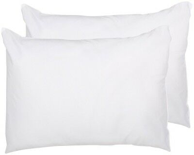 2 Pack of Adorable Snuggle 100% Polyester Pillows in White