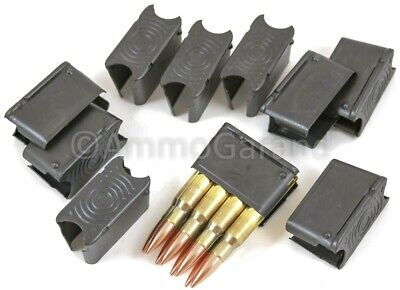 10ea M1 Garand 8rd Clips ENBLOC 8 Round Clip NEW USGI Spec US Made Parts 30-06