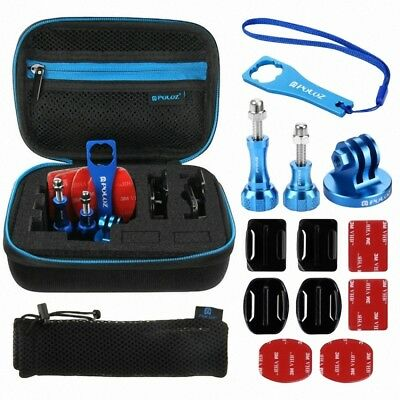 PULUZ 13 in 1 CNC Metal Accessories Combo Kits with EVA Case