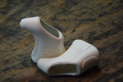 Campagnolo Griffgummis NEU Weiss White Super Nuovo Record Victory Triomphe Hoods