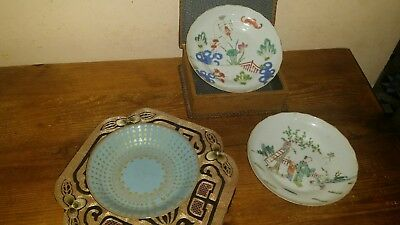 lot chinese vintage porcelain