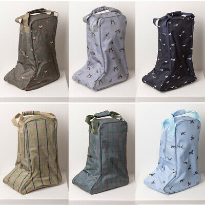 Wellington Carrier Bag Welly Bag Boot Storage Bag Zipped Carry Handle Rydale