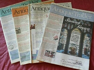 Antique Trader America's Antiques & Collectibles Marketplace, 4 issues from 2015