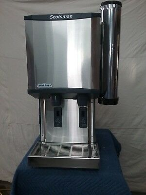 Nice Used 2016 Scotsman Hid312Aw-1A Touchfree Nugget Ice Machine/dispenser