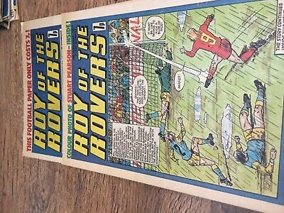 Roy of the Rovers 1977 Comics  VGC