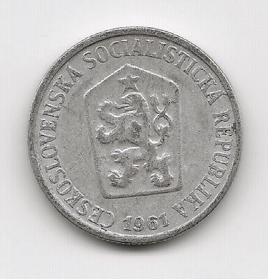 World Coins - Czechoslovakia 10 Haleru 1961 Coin KM# 49