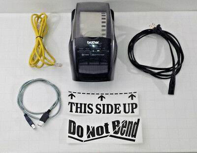Brother QL-580N Professional Thermal Label Printer with Built-in Networking