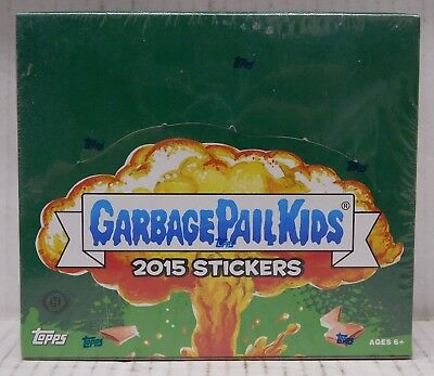 GARBAGE PAIL KIDS 2015 STICKERS - 24-PACK BOOSTER BOX Topps Stickers NEW