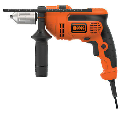 "Black and Decker 6 Amp 1/2""Corded VSR Hammer Drill"
