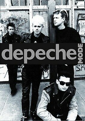 Depeche Mode Group Photo Poster New  !