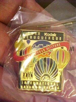 1998 Kodak Albuquerque International Balloon Fiesta Change Your Altitude Pin MIP