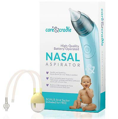 Electric Nasal Aspirator, Electric Nose Cleaner, Snot Booger Sucker for Babies
