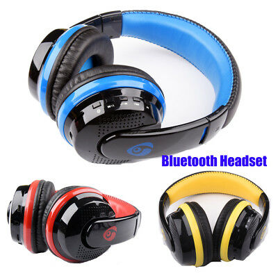 Wireless Bluetooth 4.0 Stereo Headset Earphone Headphone With Mic For Laptop PC