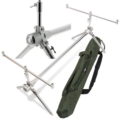Ngt Carp Fishing Classic Short Rod Pod Fully Adjustable In Protective Carry Case