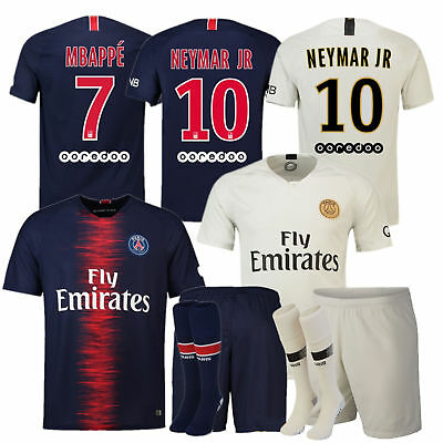 2018-19 Football Club Kids Adult Kits Jersey Sportwear Suit Short Sleeve +Socks