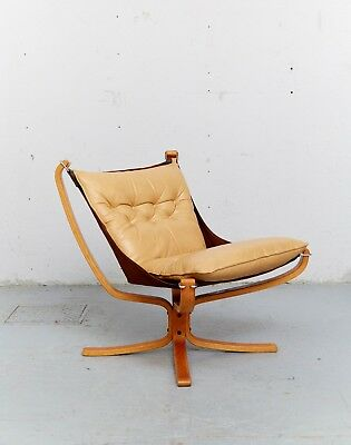 """Sigurd Ressell """"Falcon Chair"""" Sessel for Vatne Møbler I 1 von 2"""