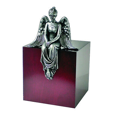 Unique Artistic Cremation Urn Reflection Angel Funeral Urn For Adult (Art 15S)