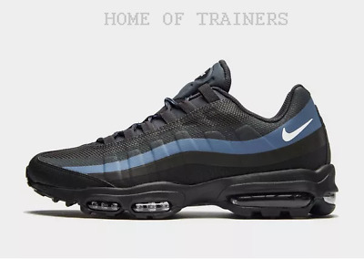 quality design af2c1 96ad1 Nike Air Max 95 Ultra SE Black Blue White Men s Trainers All Sizes