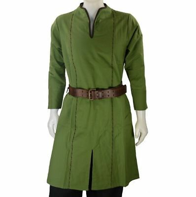 Medieval Viking Camel Color Tunic Costume For Armor Clothing Reenactment Costume
