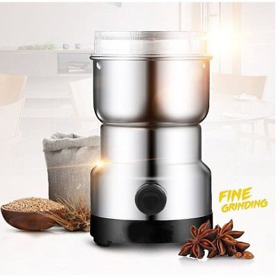 Electric Grinder Coffee Bean Spice Herbs Mill Blade Grinder Blender Kitchen Tool
