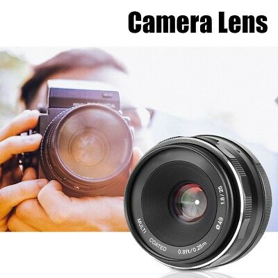 Meike 25mm f1.8 Manual Wide Angle Focus Lenses for Canon/Sony/M4/3 Mount Camera