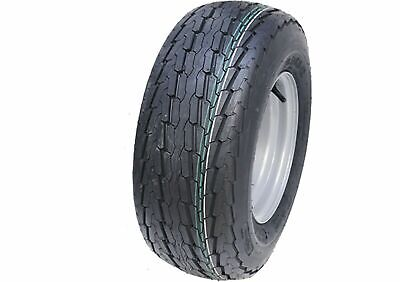 20.5x8-10 trailer wheel 8ply high speed road legal tyre 4 stud rim 20.5 8-10