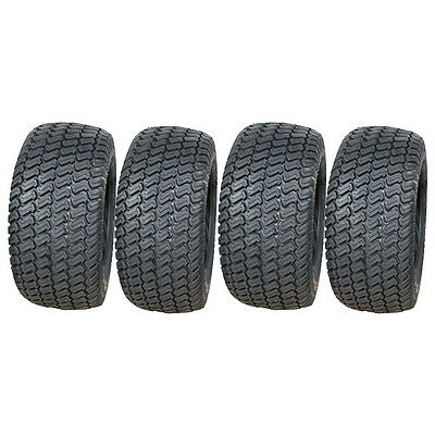 4 - 16x6.50-8 4ply lawnmower, grass, turf buggy tyres, 16 650 8 tire set