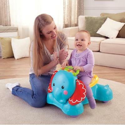 a4c049561 FISHER-PRICE 3-IN-1 BOUNCE Stride and Ride Elephant - £53.99 ...