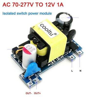 AC-DC Converter 110V 220V to 12V 1A Low Ripple Switching Power Supply Module