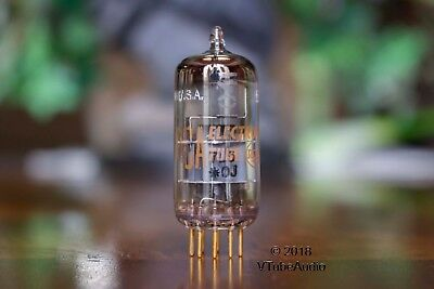 E88Cc 6922 Amperex N.y. Branded Rca 1960 D Getter Balanced Preamp Vacuum Tube