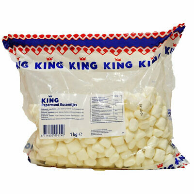 King Pepermunt Kussentjes Pfefferminze 1 Kg Holland Peppermint