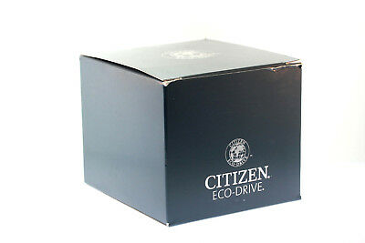 Authentic Citizen Eco-Drive Blue Watch Box Set - Warranty Card Included