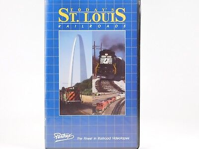 Pentrex VHS Railroad Video Today's St. Louis Railroads In Color w/ Narration