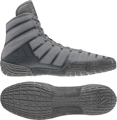 Adidas AdiZero Varner 2 Gray Onyx Men's Wrestling or Boxing Shoes Adult Shoes