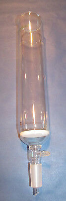 """ChemGlass Chromatography Column, 12"""", 2.5"""" ID, 24/40 Joint, Coarse Fritted"""