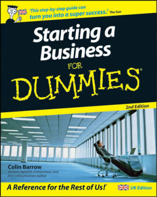 Starting a Business For Dummies�, 2nd Edition, Colin Barrow, Used; Good Book