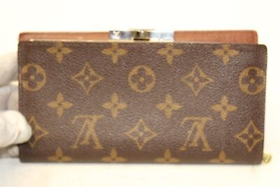 Louis Vuitton French Purse Monogram Coated Canvas Womens Bifold Wallet Usa Afz 142 50 Picclick