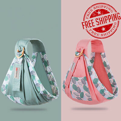 Sling Baby Carrier Cotton Breastfeeding Pouch Newborn Without Fluorescent Agent