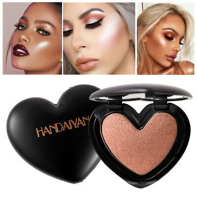 Highlighter Glitter Face Highlights Eyeshadow Powder Palette Makeup Cosmetic NEW