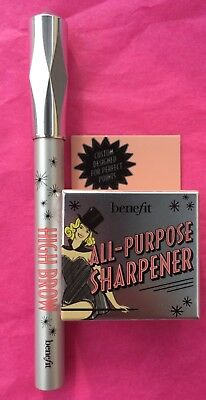 BENEFIT All-Purpose Pencil Sharpener & High Brow Pencil 0.10oz/2.8g Full Size