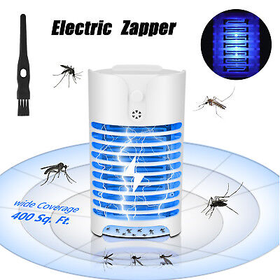 LED Electric Mosquito Fly Bug Insect Zapper Killer Insect Trap Pest Control Lamp