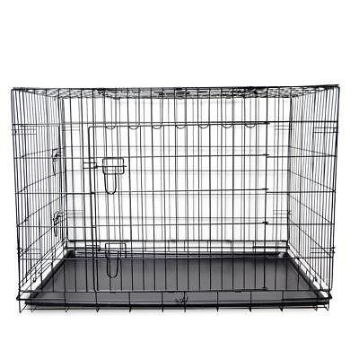 48'' XXL Extra Large Metal Foldable Pet Puppy Dog Crate Kennel Cage Enclosure #5